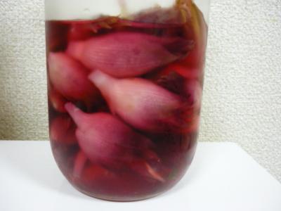 茗荷の甘酢漬け1