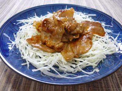 豚肉のピリ辛炒め