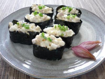 ゲソマヨ寿司