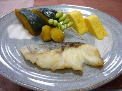 鱈の味噌漬け焼き