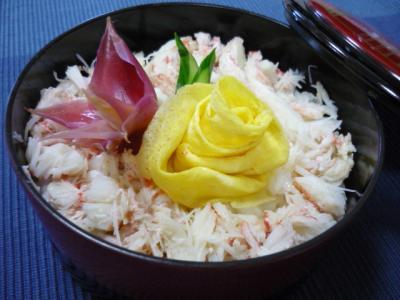 カニ散らし寿司