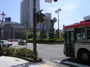 新潟駅前ロータリー
