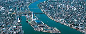 新潟市 航空写真