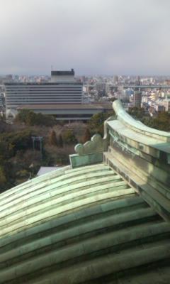 名古屋城上から