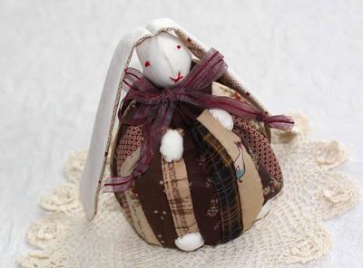 ウサギの巾着