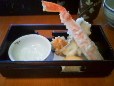 天ぷら最高!