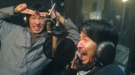 ラジオ収録だ