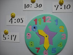 時間の勉強