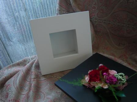 2010.4母の日に贈るプリザのフレームアレンジp1