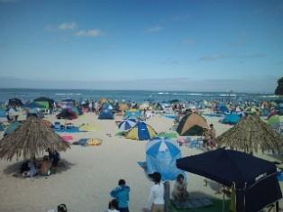 白良浜海水浴場①