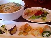 ホイアンカフェ スペシャルランチセット 鶏フォー