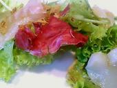ホイアンカフェ スペシャルランチセット カルパッチョサラダ