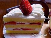leprechaun苺のショートケーキ