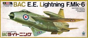 ハセガワ/FROG 1/72 BAC E.E.Lightning F.Mk-6