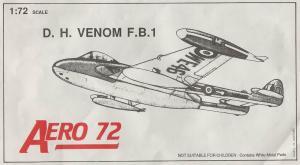 AEROCLUB 1/72 D.H.VENOM F.B.1