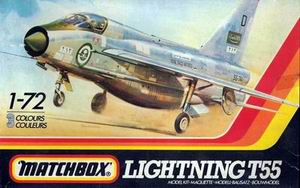 MATCHBOX 1/72 LIGHTNING T55