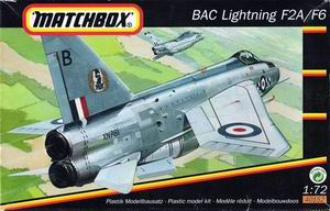 MATCHBOX 1/72 BAC Lightning F2A/F6