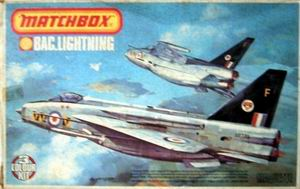 MATCHBOX 1/72 BAC LIGHTNING