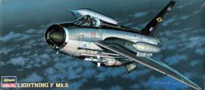 ハセガワ 1/72 LIGHTNING F Mk.6