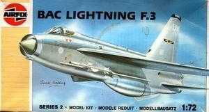 AIRFIX 1/72 BAC LIGHTNING F.3