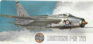 AIRFIX 1/72 LIGHTNING F-1A