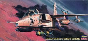ハセガワ 1/72 JAGUAR GR.Mk.1/A 'DESERT SCHEME'