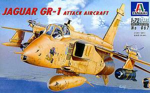 ITALERI 1/72 JAGUAR GR-1 ATTACK AIRCRAFT