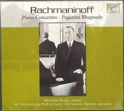 ラフマニノフのピアノ協奏曲全集