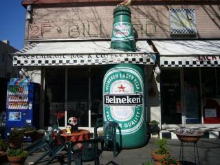 ビールのたもとでおしゃべり