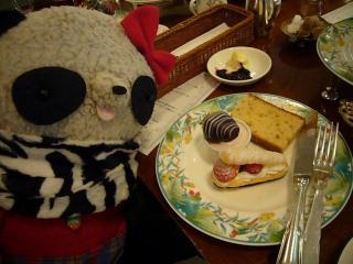 デザートプレートも美味