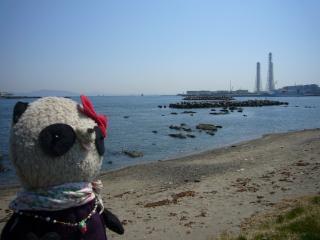 横須賀の東電おばけ煙突