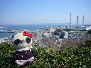 久里浜港と東電