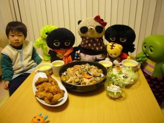 ばぶちゃんお誕生日パーティー