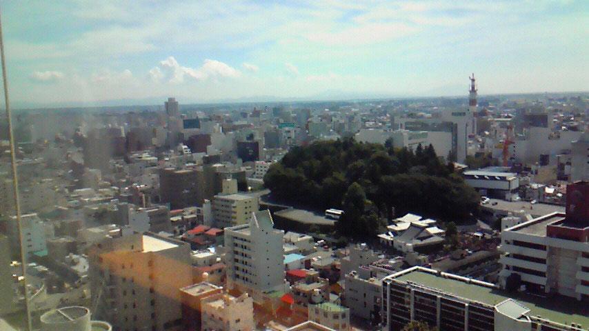 栃木県庁 展望ロビー