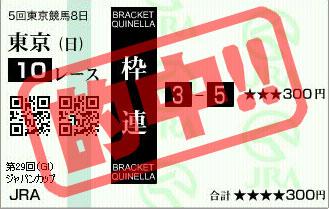 第29回ジャパンカップ