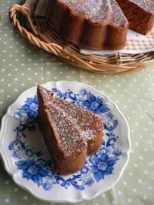 キャラメルチョコケーキ