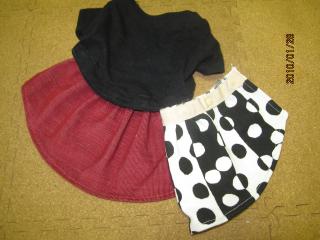 スカートと3点セット