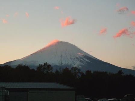 やっと富士山