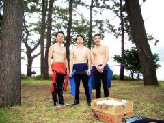 可愛い男の子三人組!