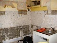 demolition kitchen