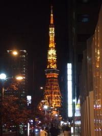 東京タワーよる