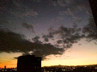 冬の夕焼け2