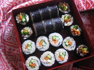 玄米ベジ巻き寿司