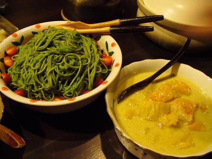 収穫祭食事1