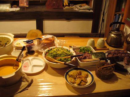 収穫祭食事3