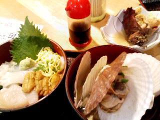 アウガ海鮮丼