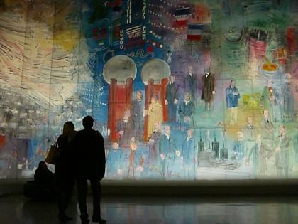 Dyfy Mural works1 (Palais de Tokyo)