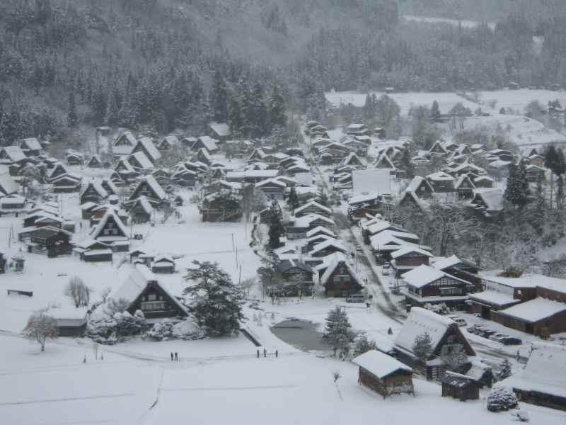 白川郷冬景色23