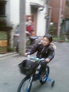 2008・11・30自転車好きな子供
