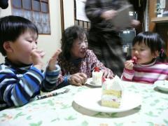 2009・2・1ばあばの誕生日にて③